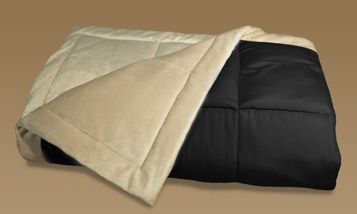 MicroPlush Reversible Down Alternative Throw: $18.99 for a MicroPlush Reversible Throw ($45.99 List Price). Multiple Colors Available. Free Shipping and Returns.