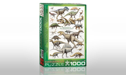 Dinosaurs 1,000-Piece Puzzle