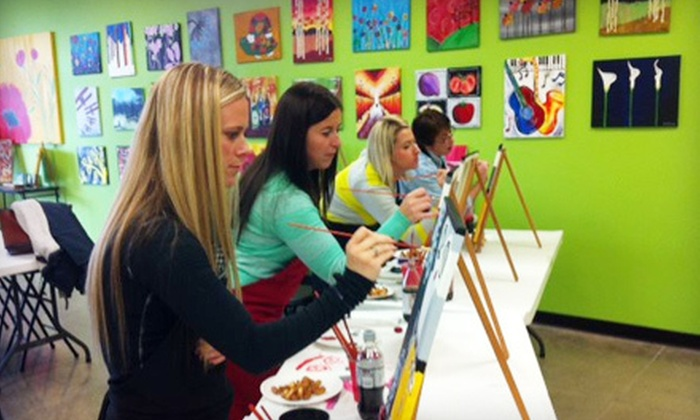 Let's Paint Wichita - Wichita: Painting Session for One or Two at Let's Paint Wichita (Up to 53% Off)