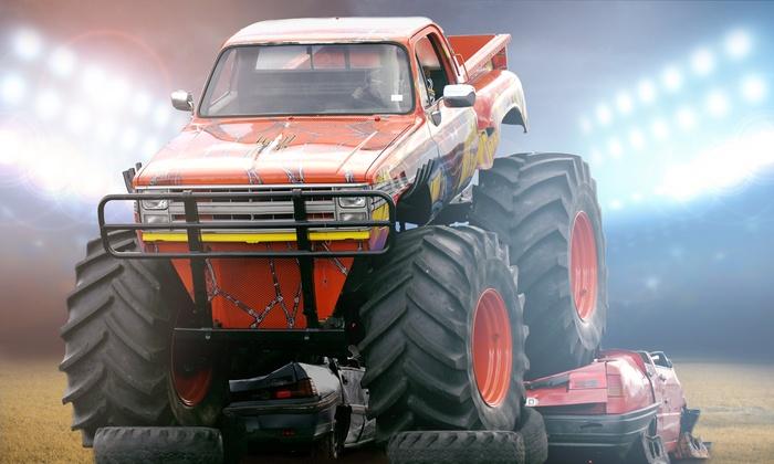 Demolition Derby Monster Truck Insanity Tour In Salt Lake City Ut Groupon