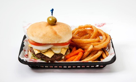 Burger Meal with Milkshakes for Two or Four at Cheeburger Cheeburger (Up to 53% Off)