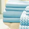Chevron Microfiber Bed Sheet Set (8-Piece)