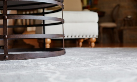 Carpet Cleaning for Three or Five Rooms up to 250 Square Feet Per Room from V Clean (Up to 65% Off)