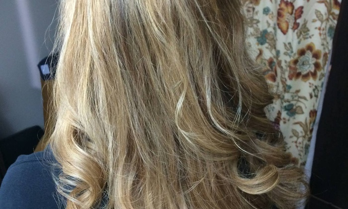 Laura At Salon Lofts - Perimeter Center: Two Haircuts and Straightening Treatments from Laura Krecow at Salon Lofts (55% Off)