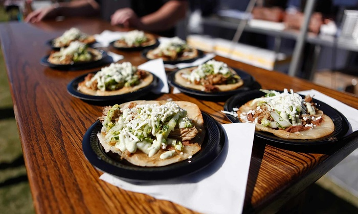 Arizona Taco Festival at Salt River Fields - Salt River Fields at Talking Stick: Fourth Annual Arizona Taco Festival for Two on October 19–20 at Salt River Fields (Half Off). Two Options Available.