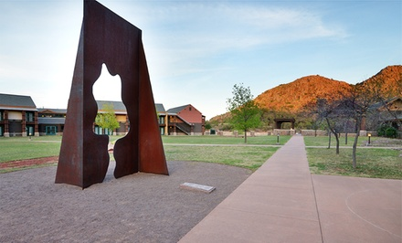 Stay at Quartz Mountain Resort Arts & Conference Center in Lone Wolf, OK. Dates Available into September.