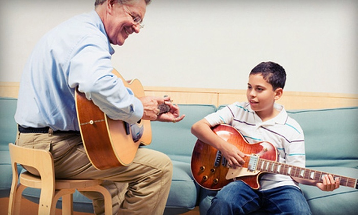 Grapevine Guitar Works - Grapevine: Four 60-Minute Group or Private Guitar Lessons at Grapevine Guitar Works (Up to 59% Off)