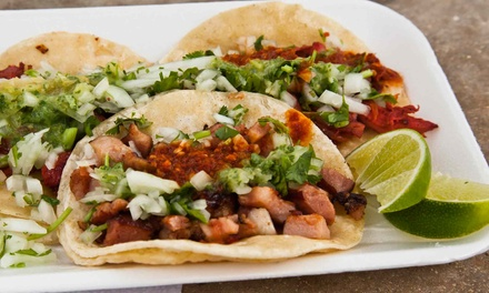 Build-Your-Own Combination Platters & House Margaritas for Two or Four at Las Olas Mexican Restaurant (46% Off)