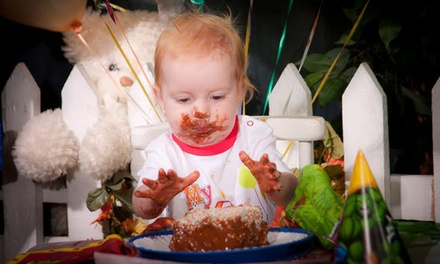 Cake Smash Photoshoot for R199 with The Little Studio
