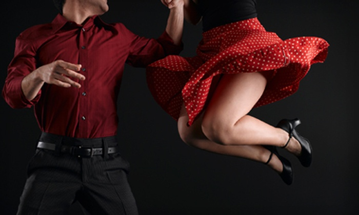 Delgado Dance Studios - Spring Valley: 30 Days of Classes and One Private Lesson or Four Dance Parties for One or Two at Delgado Dance Studios (Up to 82% Off)