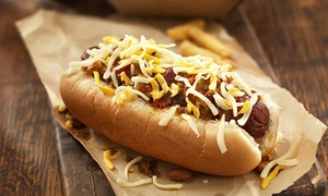 DEES CONEY Island: Two Groupons for Food, Each Worth $10 or One $20 Groupon at DEES CONEY Island (Up to 40% Off)