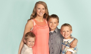 JCPenney Portraits: $16 for a Photo Session with Eight Photo Sheets at JCPenney Portraits ($119.88 Value)