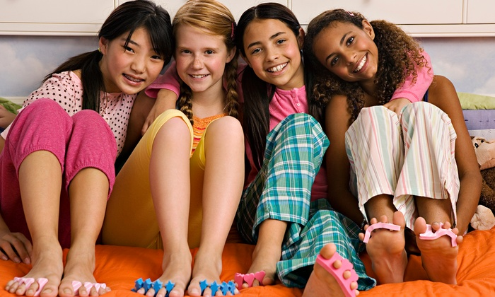 Sweet Treat Kids Spa - Northwest Columbia: One or Two Mani-Pedis for One, One Mani-Pedi for Two, or Mani-Pedi and Facial at Sweet Treat Kids Spa (50% Off)