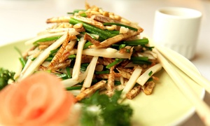 Sichuan Table: $12 for $20 Worth of Cantonese and Sichuan Cuisine for Two or More at Sichuan Table