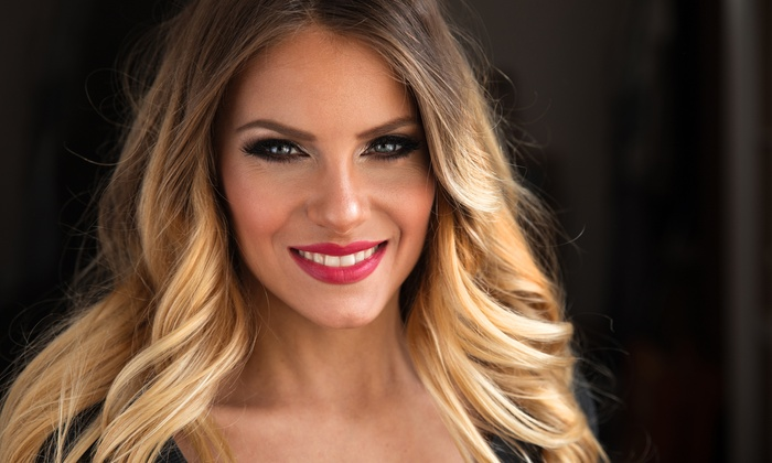 Lina Michelle Beauty Room - Neartown/ Montrose: Haircut with Conditioning Treatment or Partial, Full, Ombre, or Balayage Highlights (Up to 61% Off)