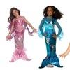 Girls' Mermaid Costume