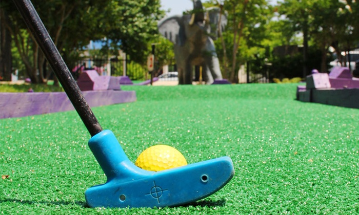 The Park at North Hills - Meridian: Mini Golf Packages for Two, Four, or Eight at The Park at North Hills (Up to 66% Off)