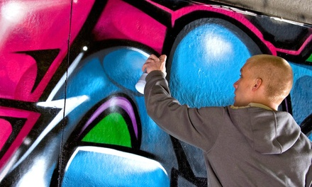 Create Street Art with a Renowned Graffiti Artist
