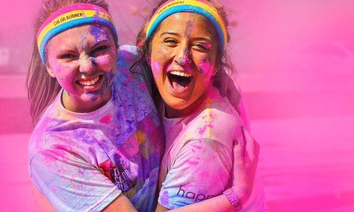 The Color Run Grand Rapids - Calder Plaza: Registration for One, Two, or Four to The Color Run Grand Rapids on Saturday, August 1 (Up to 20% Off)