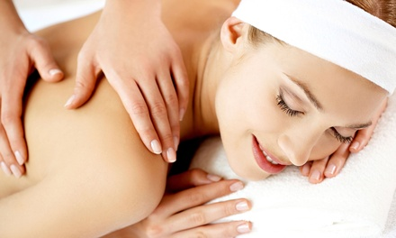 60-Minute Full-Body Massage with Optional European Facial at Massage Odyssey (Up to 56% Off)