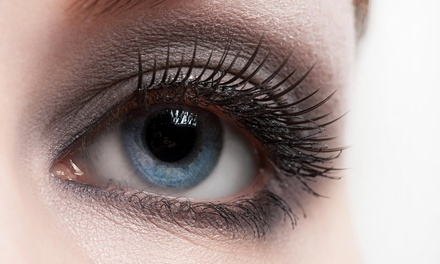 Full Set of Eyelash Extensions at Glam Lash Bar (50% Off)