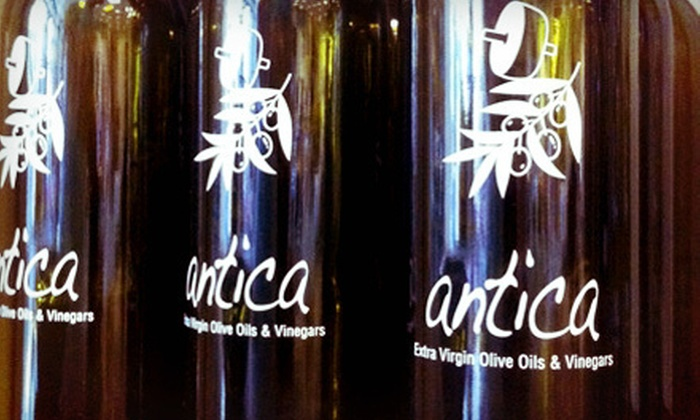Antica Olive Oils, Vinegars and Spices - Los Alamitos: $11 for Olive Oil or Balsamic Vinegar at Antica Olive Oils, Vinegars and Spices ($22 Value)