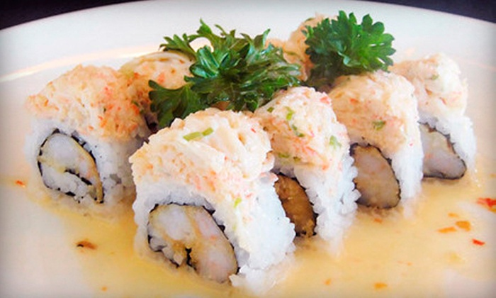 Midori Sushi - Princeton: $15 for $30 Worth of Japanese Food and Drinks at Midori Japanese Restaurant