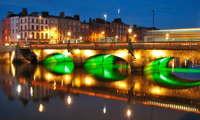 7-Night Dublin and Paris Trip from Great Value Vacations - Dublin and Galway: 7-Night Vacation in Dublin and Paris with Airfare from Great Value Vacations; Price/Person Based on Double Occupancy