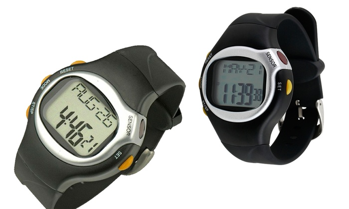 6-in-1 Sports Watch with Built-In Heart Rate Monitor