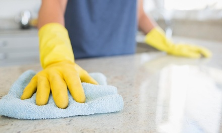 Four Hours of Cleaning Services from The Clean Machine Team  (55% Off)