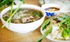 Pho Good - Blackhawk: Vietnamese Meal with Bubble Tea for Two or Four at Pho Good (Up to 57% Off)