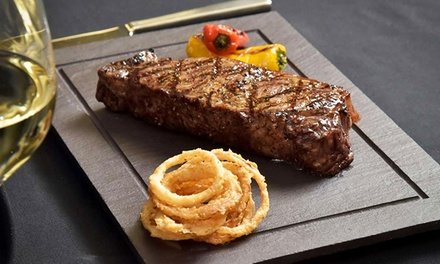 Steakhouse Fare at The Cove Steakhouse & Raw Bar, Casino Credit & Valet Parking at Harrah's (Up to 47% Off)