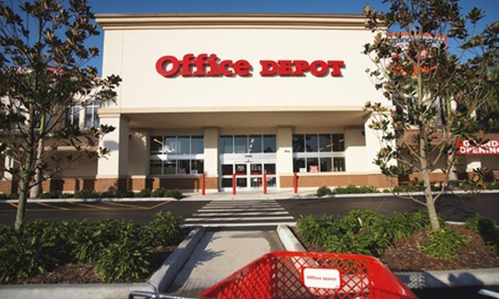 Office Depot Discounts Office Depot And Crp Groupon