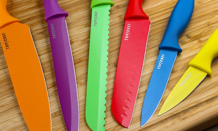 Top Chef Colored Knife Set (6-Piece)