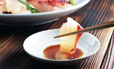 "$15 for $30 Worth of Sushi and Japanese Cuisine at Miyagi""s Japanese Restaurant"