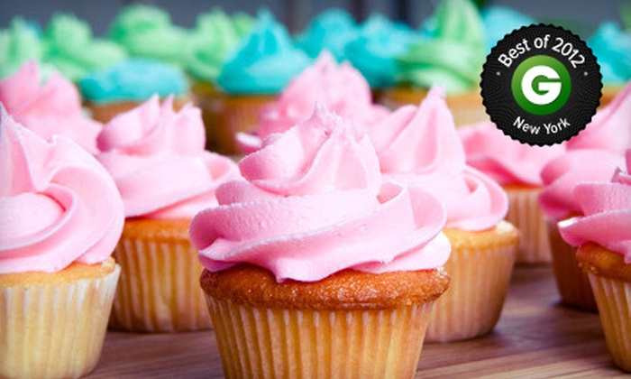 Tonnie's Minis - Harlem: Pre-Assorted Mini Cupcakes and Medium House Cupcakes at Tonnie's Minis (Up to 54% Off). 3 Options Available.