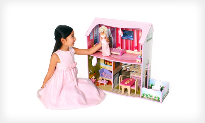 Large Deluxe Fashion Dollhouses: Large Deluxe Fashion Dollhouses (Up to 36% Off). Four Options Available. Free Shipping.