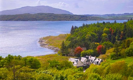 Oban: 1 or 2 Nights for Two with Breakfast at Loch Melfort Hotel