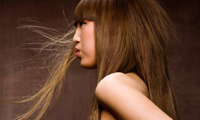 Off The Boulevard - Off The Boulevard: Keratin-Straightening or Perm Treatment at Off The Boulevard (50% Off)