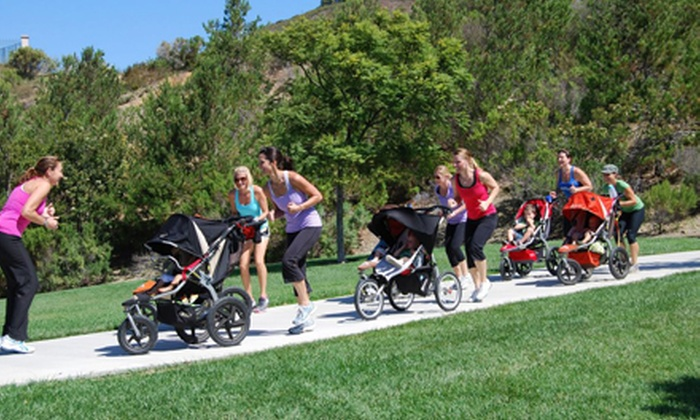 Stroller Strides - Multiple Locations: Five Stroller Fitness Classes or One Month of Unlimited Stroller Fitness Classes from Stroller Strides (Up to 67% Off)