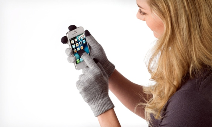 2-Pack of Touchscreen Gloves for Men and Women: 2-Pack of Touchscreen Gloves for Men and Women. Three Options Available. Free Returns.