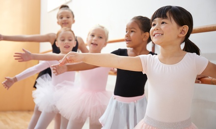 One or Three Months of Children's Dance, Tumbling, or Cheer Classes at Envy Dance Factory (Up to 53% Off)