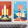 "24""x36"" Vintage Travel Posters"