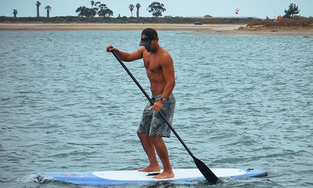 24-Hour Standup-Paddleboard Rental for One or Two at SUP Diego (Up to 66% Off)