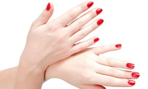 A Dezinerz Edge Nails: A Spa Manicure from A Dezinerz Edge Nails (49% Off)