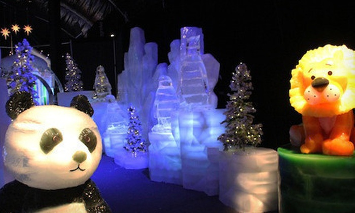 The Queen Mary - Long Beach, CA: $19 for One Ticket to The Ice Kingdom at Queen Mary's Chill and One Queen Mary Day Visit Pass (Up to $39.95 Value)