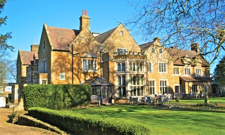 Northamptonshire: Double Room for Two with Breakfast and Option for Dinner at 4* Highgate House