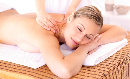 Massage with Optional Body Scrub, or Massage, Scrub, and Facial at Euro-Med Spa Boutique (Up to 61% Off)