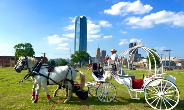 Lazy J Ranch and Rodeo Company and Carriage Service - Chickasaw Ballpark: Up to 55% Off Carriage Tour at Lazy J Ranch and Rodeo Company and Carriage Service