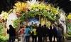 Philadelphia Flower Show Tour - Center City East: Tour a Flower Show and Arrange Blooms with a Designer